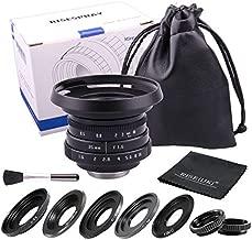 35mm F1.6 APS-C Television TV Lens/CCTV Lens for Sony Panasonic Fujifilm Olympus Canon Nikon mirrorless Camera