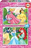 Educa- Disney Princesas 2 Puzzles x 20 Piezas, Multicolor (16846)