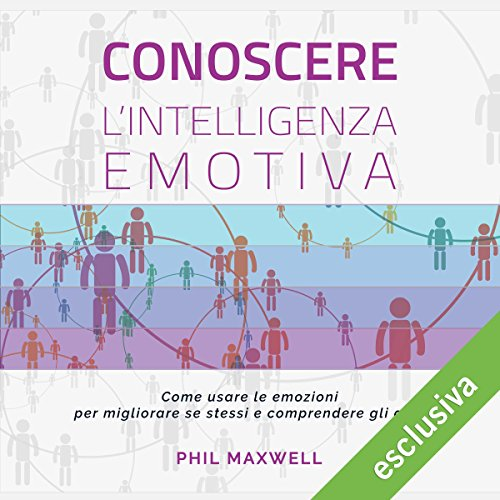 Conoscere l'intelligenza emotiva audiobook cover art