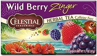 Celestial Seasonings Tea Wild Berry Zinger (Pack of 3)