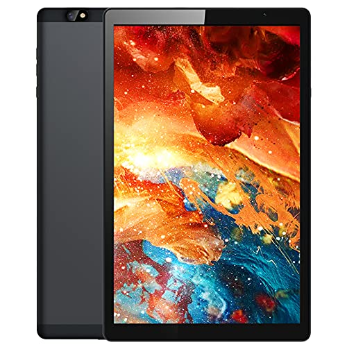 Android Tablet 10 inch, 1920x1200 FHD IPS Touchscreen, 10.1 inch Octa Core Tablet, 2GB RAM 32GB Storage, 8MP+8MP Dual Camera, 7000mAh Battery, 2.4G/5G Wi-Fi, Bluetooth 5.0, 450 Nits Ultra Bright, GPS