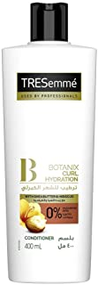 Tresemme Botanix Natural Conditioner for Curl Hydration with Shea Butter & Hibiscus, 400ml