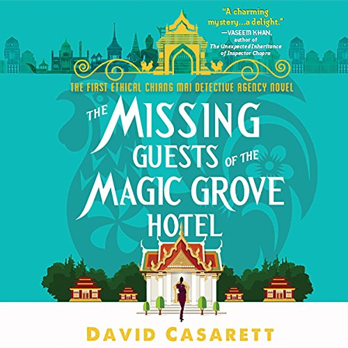 The Missing Guests of the Magic Grove Hotel audiobook cover art
