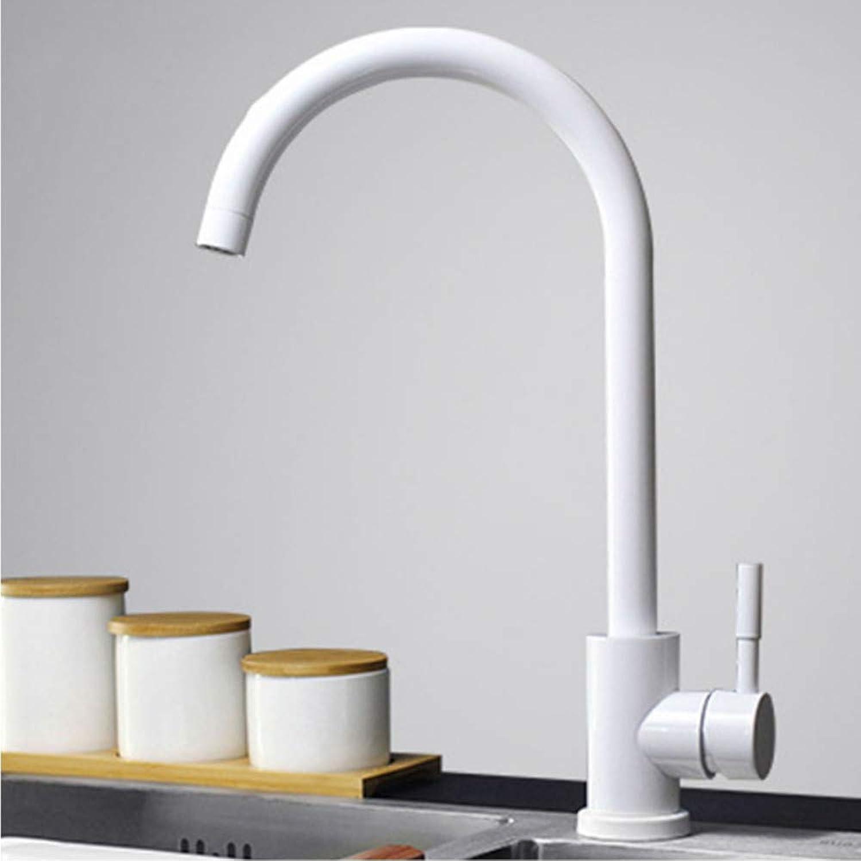 Kitchen Faucet 304 Stainless Steel Swivel Faucet 360 Degree redation Faucet Single Handle Single Hole Faucet Mixer