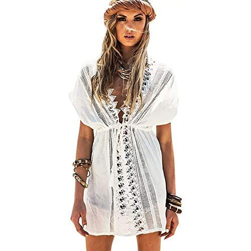 Lazz1on Copricostume Mare Donna Sexy Pareo Abito da Spiaggia Costume da Bagno Estate