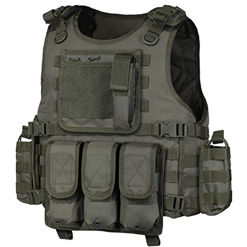 GZ XINXING Tactical Airsoft Paintball Vest Green