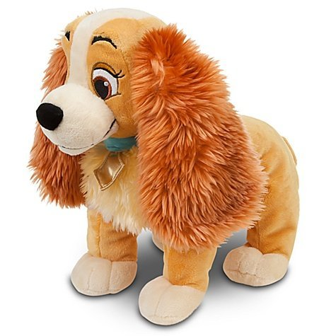 Disney Lady and The Tramp: Lady Plush -- 14'' L