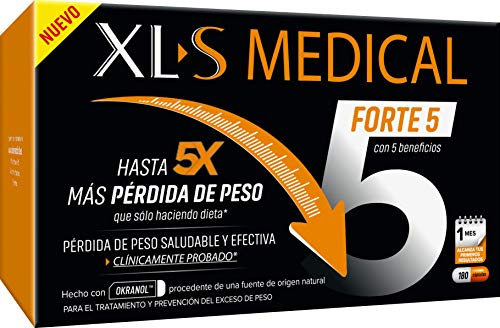XLS Medical Forte 5 | Captagrasas | Pierde hasta 5...