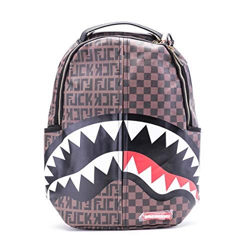 SPRAYGROUND | B3249NSZ Split The Check Shark Backpack - Brown Brown