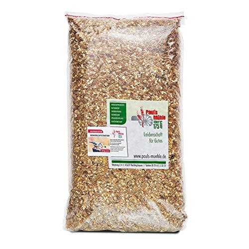 Paul´s Mühle Premium Ganzjahresfutter für Wildvögel mit extra hohem Fettanteil, Vogelfutter zur Ganzjahresfütterung, Senkrechtstarter, 10 kg