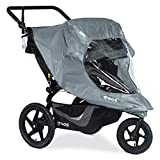BOB Duallie Swivel Wheel Stroller Weather Shield | Water and Wind Resistant + Ventilated + Easy...