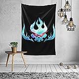 Xuanyang Anime & Super Tengen Toppa Gurren Lagann Flag Classic Wall Tapestry Apestry Album 3D Wall Hanging Art Home Decor Wave Tapestries