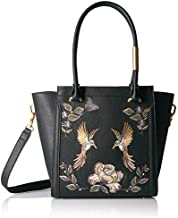 Foley + Corinna Ma Cherie Taylor Embroidery Tote, berry sangria