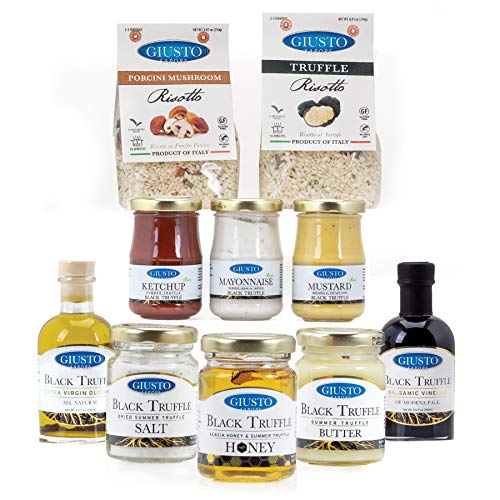 Ultimate Truffle Gourmet Gift Set - Honey, Butter, Salt, Ketchup, Mayo, Mustard, Oil, Vinegar & Risotto