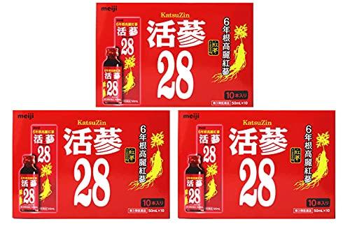 【第3類医薬品】活蔘28 50ml×10本 ×3