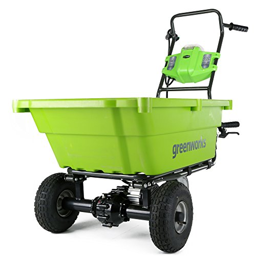 Greenworks GC40L00 G-MAX 40V Garden Cart, Battery and Charger Not Included