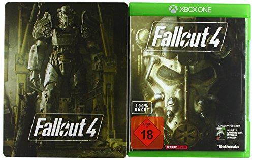 Fallout 4 Uncut - Standard inkl. Steelbook (exkl. bei Amazon.de) - [Xbox One]