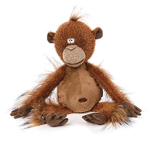 Sigikid 38741 Stofftier für Erwachsene und Kinder, Affe, Mon Key, BeastsTown, Braun, 38741