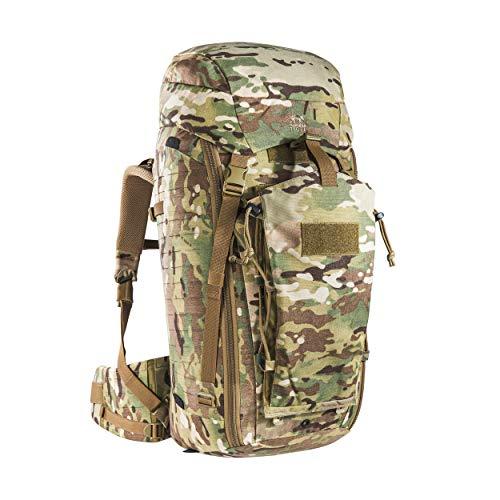 Tasmanian Tiger TT Rucksack Modular Pack 45+ Molle-Kompatibler Backpacker Trekking-Rucksack Abschließbar 50L Volumen, Multicam