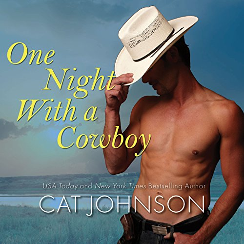 One Night with a Cowboy audiobook cover art