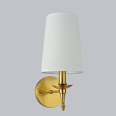 Applique Murale Luminaires Intérieur American Rustique cuivre Lampe Salon Chambre lit Moderne Mur Murale