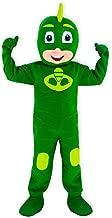 KF Green PJ Mask Mascot Costume Gekko Party Adult Halloween Cosplay Greg Character