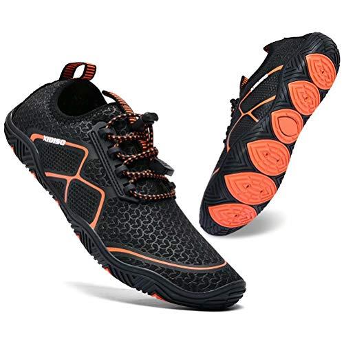 XIDISO Zapatos Acuáticos Hombre Mujer Zapatillas de Playa Piscina Surf Buceo Natación Zapatos De Agua para Deportes Acuáticos