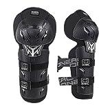 O'NEAL | Knieprotektor | Kinder | Motocross Enduro | Verstellbare & elastische Klettbänder, nach (EU) 2016/425, Robuste Pastikschalen | Pro III Youth Knee Guard | Schwarz | One Size