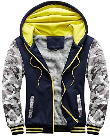 Mens Hoodie Winter Warm Villus Max Cheap mail order sales 53% OFF Outwear Coa Sweater Zipper Jacket