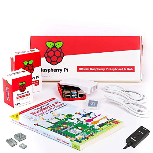 CanaKit Official Raspberry Pi 4 Desktop Kit with PiSwitch and Heat Sinks (4GB)