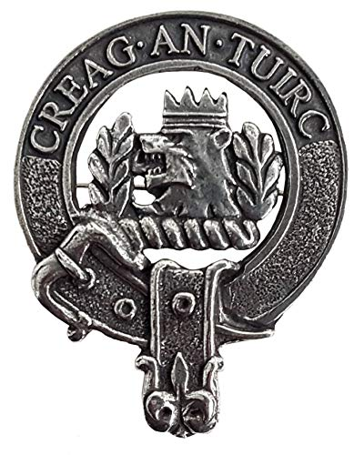 Gaelic Themes Maclaren Scottish Family Clan Crest Badge/Brooch