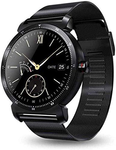 Reloj Inteligente Hd Monitor de Ritmo Cardíaco Podómetro Fitness Tracker Smartwatch conectado para Android iPhone Noble-F-A