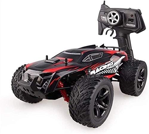Cakunmik 4WD RC 2.4G Radio Control Remoto Toys Toys De Alta Velocidad Coche De Escalada 4X4 Double Motors Dune Buggy Bigfoot Drifting Off-Road Vehículo, 1: 10