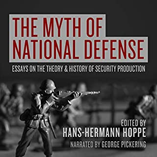 The Myth of National Defense audiobook cover art