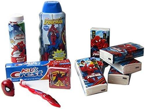 Spiderman Bath Set Spiderman Personal Bath Accessories Kit For Boys by Glitter and Gumdrops