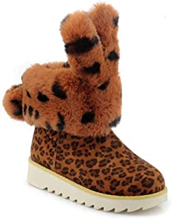 Fashion Women's Snow Boots Winter Short Boots Warm Ankle Boots