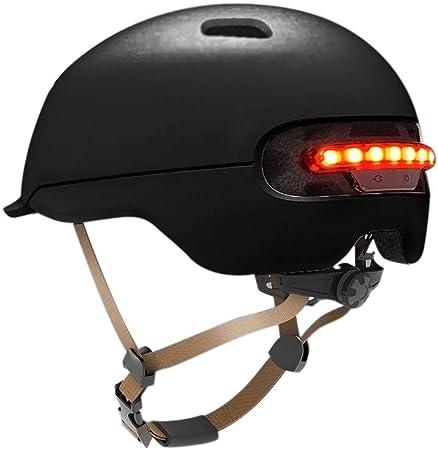 Dedeka Casco Bicicleta con luz LED para XIAOMI M365, Casco ...