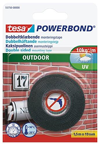Tesa Ruban adhésif double face 19 mm x 1,5 m