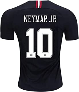 Neymar JR 10 PSG Third 2018-19 (Official Printing) Soccer Jersey Jordan Third Men's