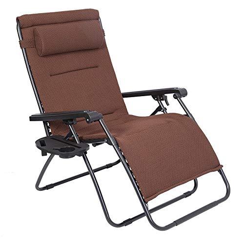 LUCKYBERRY Zero Gravity Mesh Lounge Chair