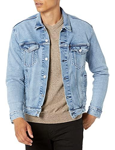 Levi's Men's Trucker Jacket Outerwear, -Belle Town - Stretch, M