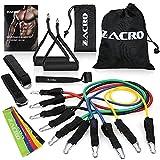 Zacro Bandes de Résistance Set - 16Pcs Kit Elastique Musculation Bandes de Fitness, Power Guidance Bandes avec Ancre de...
