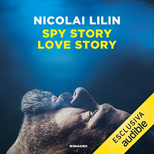 Spy story love story cover art