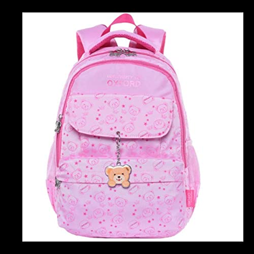 QUAN YOU Schultasche-Gründschule Schüler leicht und einfach l ig Rucksack Gep  Rucksack Kinderrucksack (Farbe   Rosa, Größe   31  14  42CM)
