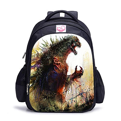 Product Printing Big Monster 2 School Bag King of Beasts Student Backpack Children Reduce Burden Cartoon Shoulder Male-Twenty one_Small