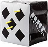 """NXT Generation Inflatable 15"""" x 15"""" Box Target - Designed for Both Hook & Loop Tipped & Suction Tipped Foam Darts - Suitable for Indoor & Outdoor Play - Targets on Two Sides - for Children Ages 5+"""