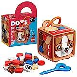 LEGO DOTS BAG TAG - Cagnolino, Kit Lavoretti Creativi per Bambini, Portachiavi Personalizzato, Set Componibile, 41927