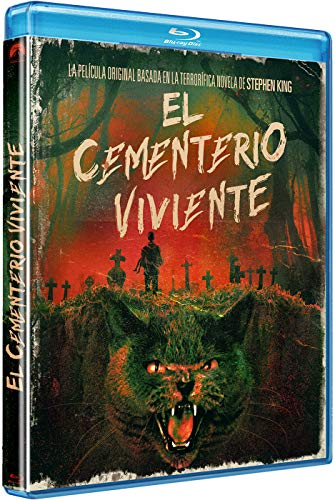 EL CEMENTERIO VIVIENTE - EDICIÓN HORIZONTAL (BD) [Blu-ray]