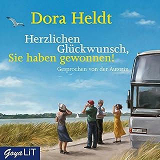 Herzlichen Glückwunsch, Sie haben gewonnen!                   Autor:                                                                                                                                 Dora Heldt                               Sprecher:                                                                                                                                 Dora Heldt                      Spieldauer: 3 Std. und 50 Min.     126 Bewertungen     Gesamt 4,3