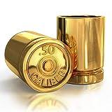 50 Caliber Bullet Shot Glass Groomsmen Gifts...